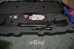 Crossman Night Ops Elite PCP Break Barrel Single shot. 22 Pellet Gun, Package