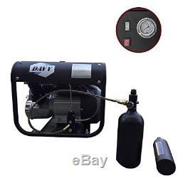 Davv High Pressure Air Compressor Paintball Pcp Airgun Rifle Scuba