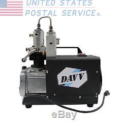 DAVV SCU30 High Pressure Air Compressor PCP Airgun Rifle Scuba Tank Filling
