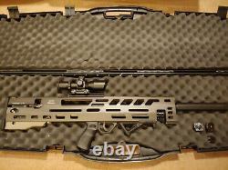 Evanix 3D Bullpup Rainstorm pcp. 25 cal pellet rifle