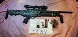 Evanix GTL 480 (9mm/357) fully adjustable PCP. New. Comes with accessories