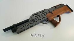 Evanix MAX Wood. 22 (Semi or Full Auto) PCP Pellet Rifle Air Gun caliber stock