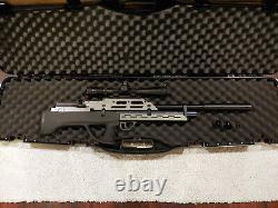 Evanix Max-ML Bullpup PCP Air Rifle. 22 Cal, Altaros manometer, quiet accessory