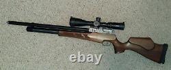 Evanix Rainstorm 2.22 PCP Air Rifle Pellet Tuned Will Piatt 50 FPE! MOA @ 50yds