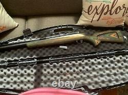 Extrme big bore 45 caliber pcp air rifle