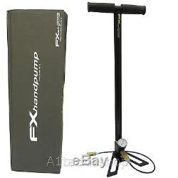 FX 3 Stage Stirrup Pump for PCP Pre Charged Airgun / Air Rifle Charging