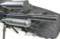 FX Airguns Impact. 25 Cal PCP Air Gun in Rifle Case Bundle