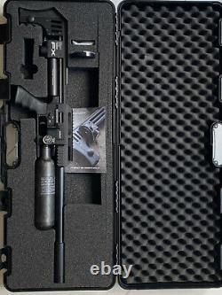 FX Impact X MKII, Black PCP Air Rifle. 22 600 mm Power Plenum Brand New