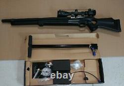 FX T12 Whisper. 25 Cal. PCP Air Rifle, 3 Stage Hand Pump
