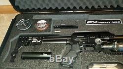 FX impact X. 25 700mm MK2 BLACK PCP air rifle smooth twist x barrel
