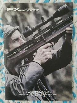 Fx Wildcat MK1 Bullpup PCP Synthetic Black Air Rifle Caliber. 22 Pellet AirGun