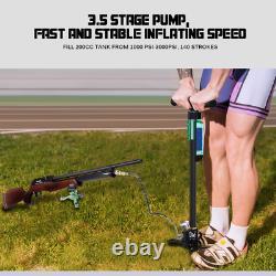 GX PCP Hand Air Pump 3.5Stage High Pressure 30Mpa/4500Psi Air Rifle Filling Pump