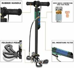 GX PCP Hand Pump 4500PSI 3.5 Stage Airgun Rifle Air Compressor Pump Tank Refill