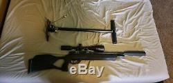 Gamo Urban PCP Air Rifle 22 cal and benjamin handpump