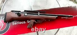 HATSAN Flashpup. 25 wood PCP pellet rifle