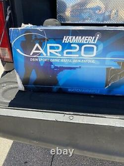 Hammerli AR20 Pro Silver PCP Air Rifle. 177 cal