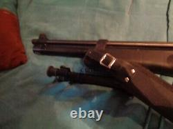 Hatsan BT65 pcp air rifle. 25 with two stocks. Synthetic and wooden