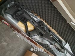 Hatsan Blitz. 25 caliber PCP air rifle with 600 rounds of ammo