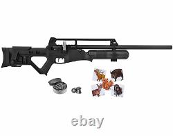 Hatsan Blitz Full Auto PCP. 30 Cal Air Rifle and Targets and Lead Pellets Bundle