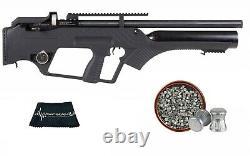 Hatsan BullMaster Semi-Auto PCP Air Rifle. 22 or. 177 caliber w Pack of Pellets