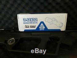 Hatsan Bullmaster. 22 Cal. Semi Automatic PCP UTG BIPOD & SCOPE Bundle