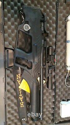 Hatsan Bullpup PCP 0.22 CAL Semi-Auto Air Rifle With Tank And Pump