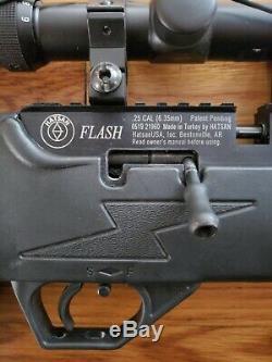 Hatsan Flash QE. 25 Cal Bolt Action PCP