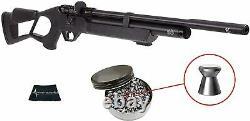 Hatsan Flash QE Quiet Energy. 22 PCP Air Rifle with 250 Pellets and W4U Cloth