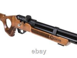 Hatsan Flash Wood QE QuietEnergy. 25 Cal PCP Air Rifle with Hardwood Stock