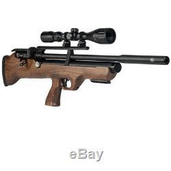 Hatsan FlashPup Q. Energy PCP Air Rifle (. 25 cal)- Hardwood