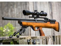 Hatsan Flashpup QE PCP Air Rifle. 25 cal 870FPS HGFlashPup-25Q