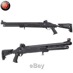 Hatsan Galatian Tact Auto PCP Air Rifle (. 22 cal)- Blk Syn