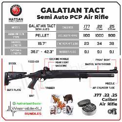 Hatsan Galatian Tact Semi Auto. 25 Caliber PCP Air Rifle