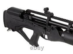 Hatsan Hercules Bully Pre-Charged Pneumatic PCP. 22 Caliber Air Rifle