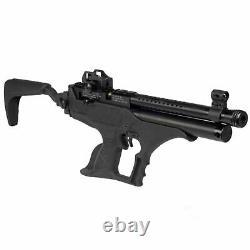 Hatsan Sortie Tact Semi-Auto PCP Air Pistol. 22cal, 700FPS Black HGSortTact-22