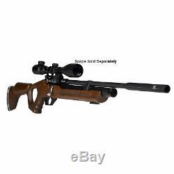Hatsan Versatile Flash QE 0.22 Caliber PCP Bolt Action Repeater Air Gun, Wood