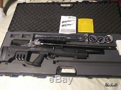 Hatsan gladius pcp air rifle 9 shot. 25 Caliber
