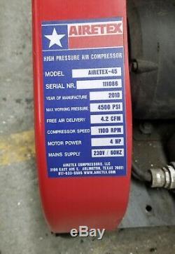 High Pressure Air Compressor for Paintball PCP Airgun Rifle Scuba Tank