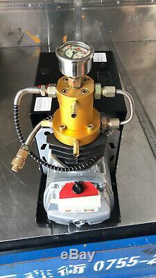 High Pressure Air Pump Electric PCP Air Compressor for Airgun Scuba Rifle 30MPAT