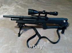 Huben K1.25 Gen 4 PCP Air Rifle withHard Case, Bipod, Sling, 3-12x50AO Scope, Etc