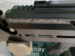 KRAL Puncher ARMOUR 25 cal air rifle PCP side lever charging pellet rifle