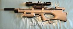 Kral Arms Puncher Breaker Synthetic. 177 Caliber Sidelever Bullpup PCP Air Rifle