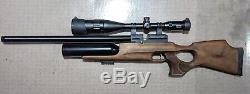 Kral Arms Puncher Jumbo. 22 PCP + Air Venturi LE Carbon Fiber Air Tank, 4500 PSI