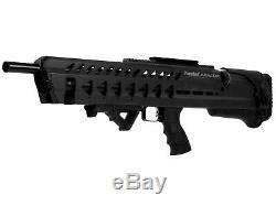 Kral Puncher Armour PCP Air Rifle Black 0.250 Caliber