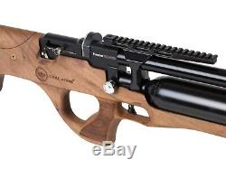 Kral Puncher Ekinoks Semi-Auto Air Rifle PCP Turkish Walnut Stock 0.177