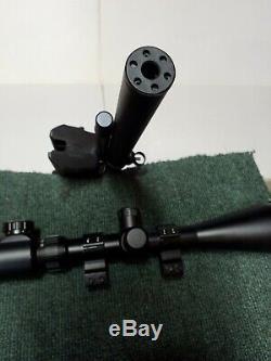Nova Freedom 22 PCP Pump Pellet Rifle/Aspen Seneca/ EXCELLENT COND with Moderator