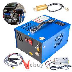 PCP Air Compressor, Portable 4500Psi/30Mpa, PCP Rifle/Pistol and Paintball Tank