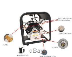 Pcp air compressor for paintball air rifle tuxing high pressure 300bar 110V 220V
