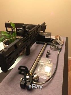 Pcp air rifle Evanix Rainstorm Bullpup. 357