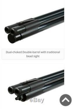 Pcp air rifle used, Double Barrel. 50 Caliber Shotgun by Seneca. Bundle Pack
